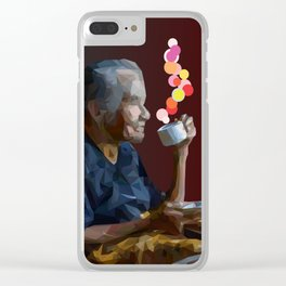 old women Clear iPhone Case