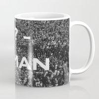 human Mugs featuring ? Human by WeLoveHumans