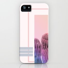Pastel Cactus #society6 #spring iPhone Case
