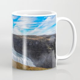 Gulfoss waterfall Coffee Mug