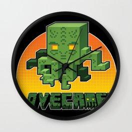 Minecraftian Wall Clock