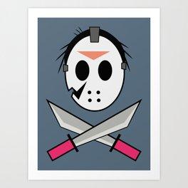 Jason Head Art Print
