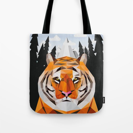 The Siberian Tiger Tote Bag