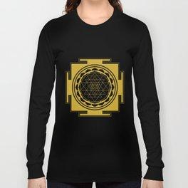 Sri Yantra Mandala Long Sleeve T-shirt