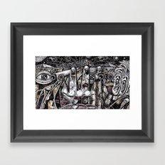 Mind Frame (Still Frame 4) Framed Art Print