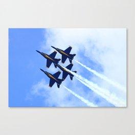 Blue Angels #s 1 2 3 4 Canvas Print