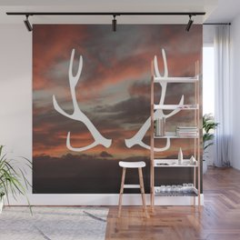 The stag of the North Wall Mural