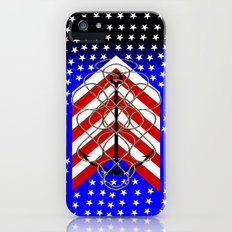 American Anchor, & Water Stars iPhone (5, 5s) Slim Case