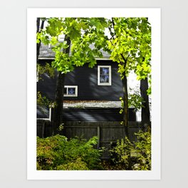Orange House Art Print