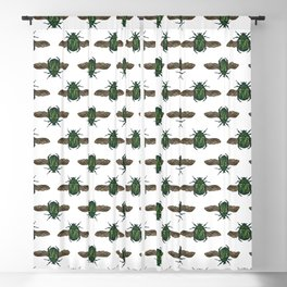Egyptian Scarab Blackout Curtain
