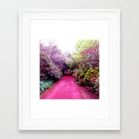 road Framed Art Prints featuring Road by haroulita