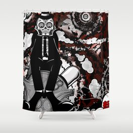 """""""A Letter to a Rose from Asteroid B-612"""" Shower Curtain"""