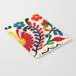 Red Mexican Flower Notebook