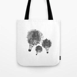 Splash of black Tote Bag