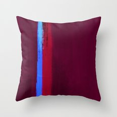 Teal Dream Abstract Throw Pillow
