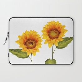 Sunflowers Illustration Laptop Sleeve