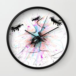 Infinity Beso Wall Clock