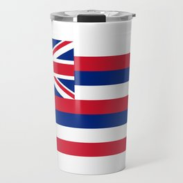 Hawaiian Flag, Official color & scale Travel Mug