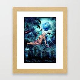 BLUE FAE Framed Art Print