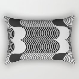 Argument of Waves (Bone) Rectangular Pillow