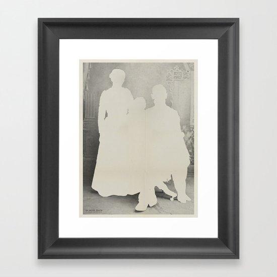 the secret family Framed Art Print