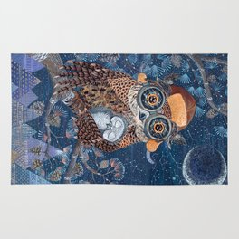 Owl mother Rug