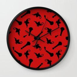 i dream of evil djinn Wall Clock