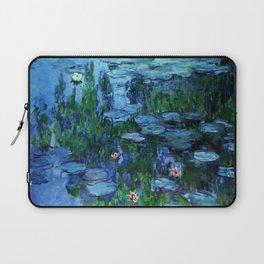 Claude Monet Water Lilies / Nymphéas deep Laptop Sleeve