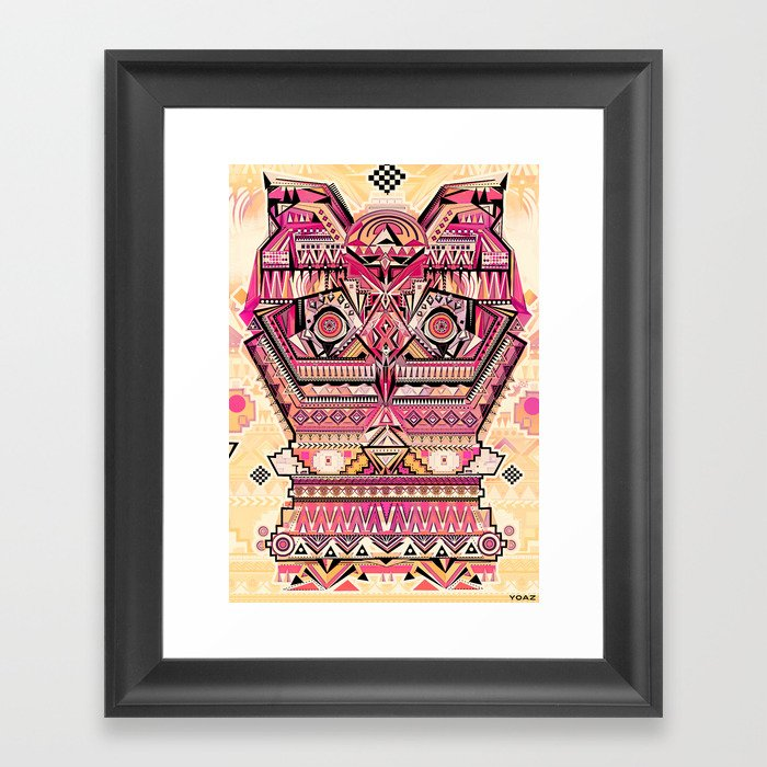 hiboux Framed Art Print