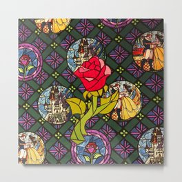 flower ROSE Metal Print