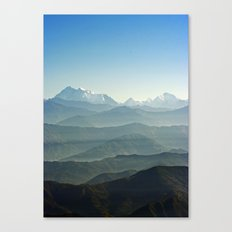 Hima - Layers Canvas Print