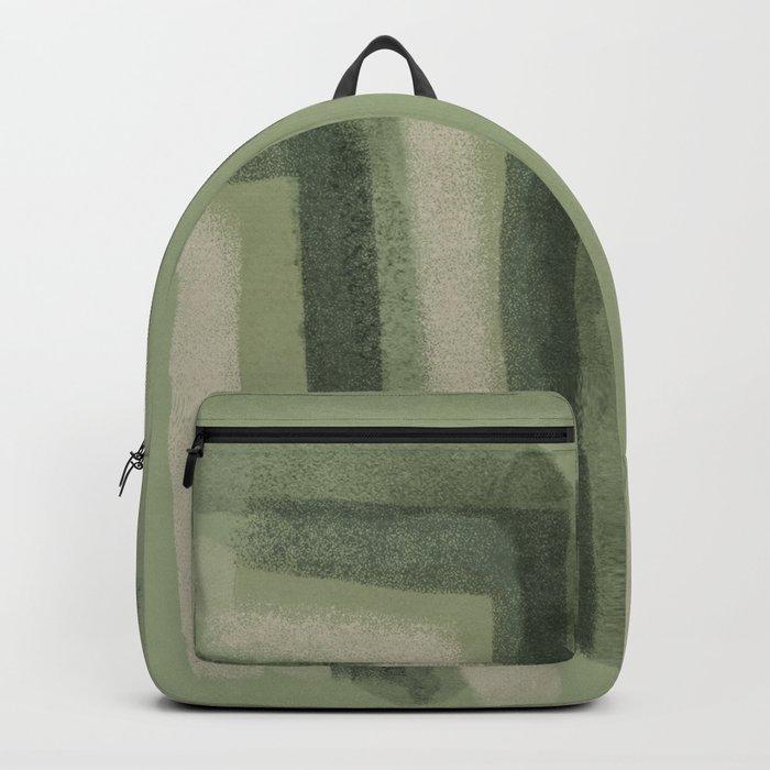 Chive green jungle Backpack