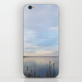 Twilight Serenity - Clouds and reflections on University Bay iPhone Skin
