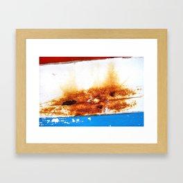 Leaned Framed Art Print