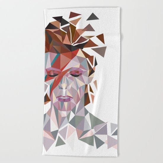Bowie Stardust Beach Towel