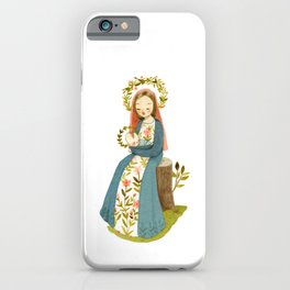 Our Lady of the Woods iPhone Case