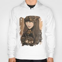 chocolate Hoodies featuring Chocolate by Sheena Pike ART