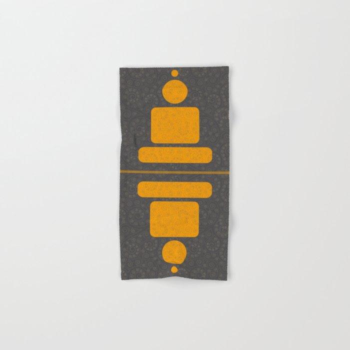 Geometric meditation - Buddha Hand & Bath Towel