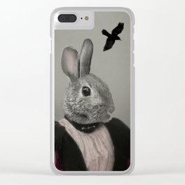 Miss Bunny Clear iPhone Case
