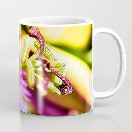Passion Flower Bee  Coffee Mug