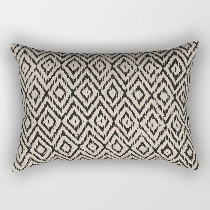 Boho Diamonds inverse Rectangular Pillow