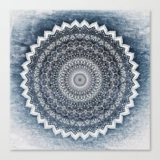 COLD WINTER MANDALA Canvas Print