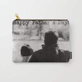 Happy Father's Day #blackwhite Carry-All Pouch