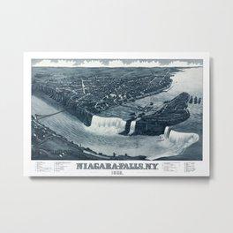 Niagara Falls 1882 Metal Print