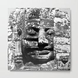 cracked, not broken - angkor wat; buddha Metal Print