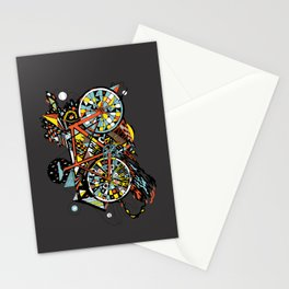 FIX TRIP ~ BLACK Stationery Cards