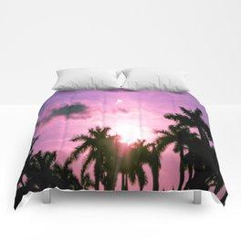 PINK(skies) Comforters