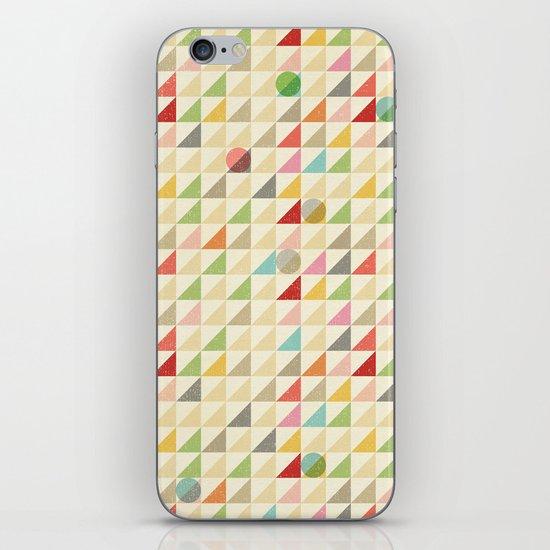 GEOMETRIC 002 iPhone & iPod Skin