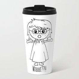 Surprised Harper Travel Mug