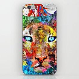 Puma Watercolor Grunge iPhone Skin